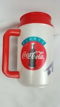 Vintage Coca-Cola Thermo Hot/Cold Cup MCAS Cherry Point Air Show 1997 USMC 90's - $29.70