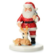 Royal Doulton Christmas SANTA LET'S GET GOING NEW IN THE BOX - $59.39