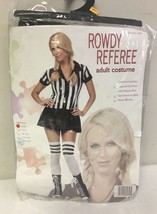 Rowdy Referee Adult Womens Costume - $26.65