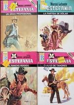ESTEFANIA Marcial La Fuente, various Lot of 4 Books en Espanol MLVA-7 - $6.00