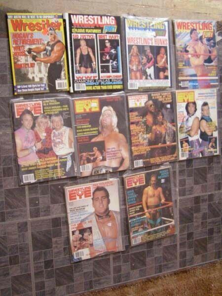 Wrestling Lot WWF WWE Hulk Hogan Scott Hall Tito Santana Don Muraco Sting + More