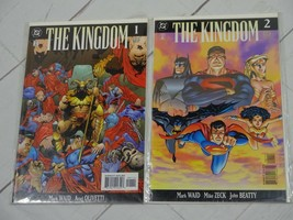 The Kingdom #1 and #2 (Feb 1999, DC) Bagged and Boarded - C3215 - $5.99