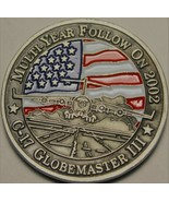 USAF Mobility Command Scotts Air Force Base Boeing C-17 Globemaster III ... - $16.36