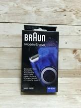 Braun Mobile Shave M-60b Cordless Pocket Travel Men's Electric Shaver Brand NEW - $27.71
