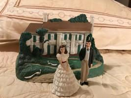 Christmas ornaments hallmark gone with the wind Rhett, Scarlett and Tara... - $14.84