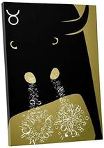 "Pingo World 1221P7QRJRS ""Pop 'Zodiac Sign Taurus'"" Gallery Wrapped Canvas Art, 2 - $57.37"