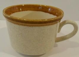 Vintage Mikasa Stone Manor Melissa F5800 Brown Rimmed Mug Japan (2 Avail) EUC - $9.49