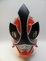 Power Ranger SAMURAI Warrior Battle MASK Red Bandai 2011 Costume Child D... - £11.44 GBP