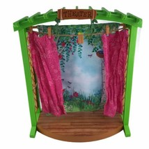 """American Girl Wellie Wishers Garden Theater Stage Accessory For 15"""" Dolls - $28.01"""