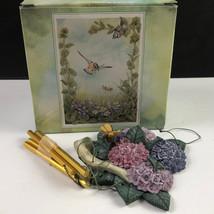 WESTLAND GIFTWARE WINDCHIME wind chime nib box bumble bee flowers bumble... - $17.82