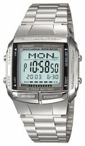 CASIO DATABANK DB-360-1AJF Silver Men's Stainless Steel Watch - $47.52 CAD
