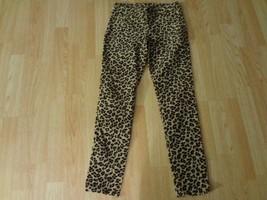 Youth Girls Cherokee 12 Animal Leopard Print Pants Courderoy - $9.49