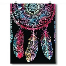 Inspired Posters Colorful Dreamcatcher Spiritual Poster Size 24x36 - $17.64