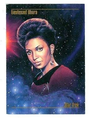 Primary image for Nichelle Nicholls as Lieutenant Uhura trading card Star Trek 1993 Sky Box #04