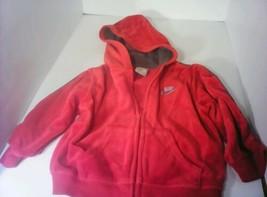 Toddler boy Red zip up Nike hoodie size 24 months  - $9.90