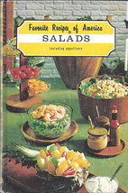 FAVORITE RECIPES OF AMERICA: SALADS (1968) PIX ... - $9.99