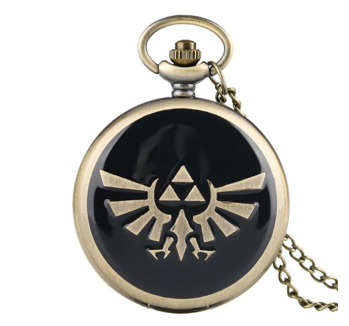 Retro The Legend of Zelda Theme Quartz Pocket Watch The Legend of Zelda - $11.50