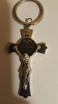 St Benedict Protection Christian Key Ring  image 1