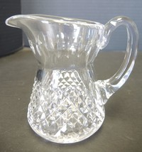 Waterford Crystal Sugar and Creamer  - Alana Pattern - $33.24