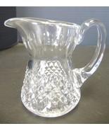 Waterford Crystal Sugar and Creamer  - Alana Pattern - $33.24