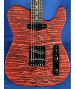 All Music Inc USA Private Collection #12 Custom Flame Top Tele Electric ... - $1,599.95