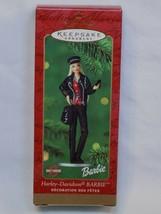 2001 HARLEY DAVIDSON BARBIE Hallmark Keepsake Christmas Ornament Leather... - $16.99