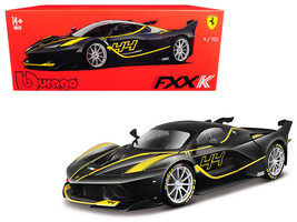 Ferrari FXX-K #44 Black Signature Series 1/18 Diecast Model Car by Bburago - $39.59