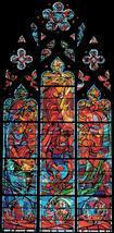washington church counted Cross Stitch Pattern stained 233 x 485 stitches L2052 - $3.99