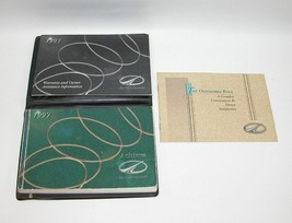 1997 Oldsmobile Achieva Factory Original Owners Manual Book Portfolio US... - $17.77