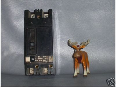 Westinghouse Circuit Breaker 50 AMP Cat. No. 657D118G05
