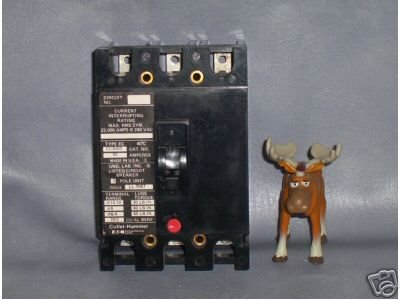 Cutler-Hammer Circuit Breaker 50 AMP Type EC3050