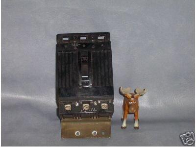 GE Circuit Breaker 50 AMP CAT. No. TEF134050