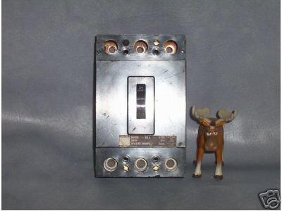Westinghouse Circuit Breaker 125 AMP Style No. 5667D810