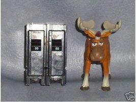 Cutler-Hammer Circuit Breaker 80 AMP Type BR280 - $49.49