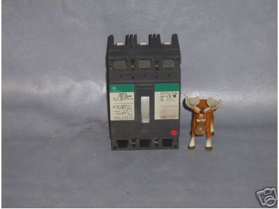 GE Circuit Breaker 100 Amp Cat. No. TED134100 ___X41