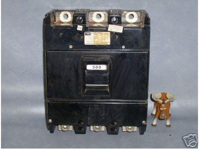 FPE Circuit Breaker 300 AMP Cat. No. NJL631300