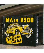 Vintage Matchbook M7 Seattle Washington Yellow Cabs Classic Car Telephon... - $53.99