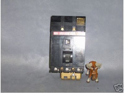 Square D Circuit Breaker 100 AMP Cat. No. FH36100 __X46
