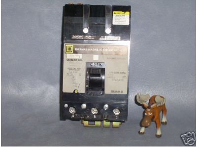 Q232125 Square D Circuit Breaker 125 AMP Cat. No. Q232125
