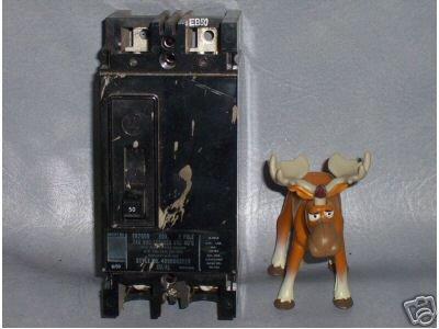 Westinghouse Circuit Breaker 50 AMP EB2050