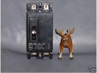 Westinghouse Circuit Breaker 20 AMP EB2020