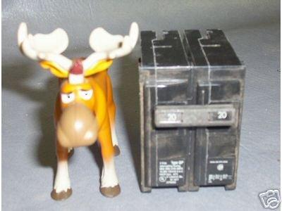 ITE Circuit Breaker 20 AMP Q220 NNB