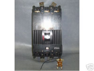 GE TKM836F000 General Electric Circuit Breaker TKM836F000 600 amp