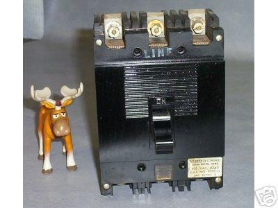 Square D Circuit Breaker 15A 600 VAC Cat # 999315