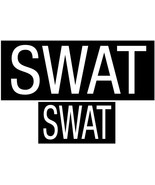 SWAT Patches Hook Back - 1 Large & 1 Small Patch for Vests or Jackets - $8.99