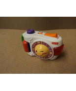 Fisher Price Toy Camera Laugh & Learn 4in W x 6... - $9.77