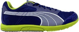Puma Bolt Faas 200 Mazarine Blue/White-Lime Punch 185679 05 Men's SZ 8 - $55.41