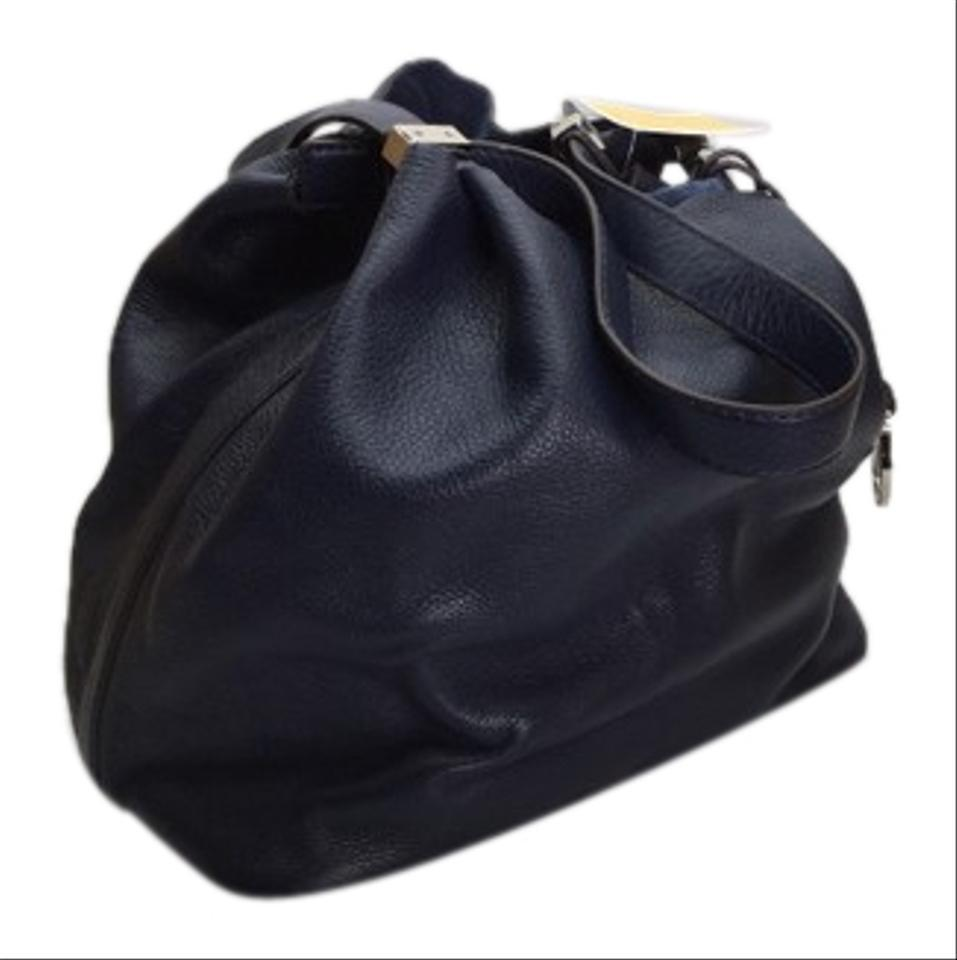 43c37152636775 Michael Kors Colgate Reversible Navy Leather and 50 similar items. S l1600