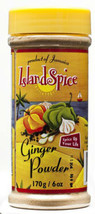 JAMAICAN ISLAND SPICE GINGER POWDER – 6 OZ ( PACK OF 2) - $13.99