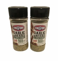 Kingsford Rustic Tuscan Garlic and Herb All Purpose Seasoning  Lot of 2 NEW! - $14.97